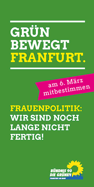 Flyer Frauenpolitik
